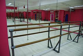 Установка зеркал в танцевальный зал (5 октября 2015) 1