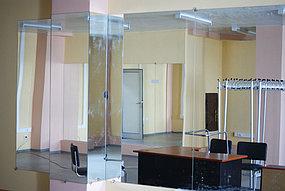 Установка зеркал в танцевальный зал (30 апреля 2015) 3
