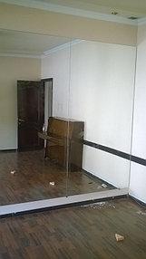 Установка зеркал в танцевальный зал (30 апреля 2015) 4