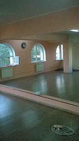Установка зеркала в танцевальный зал (25 июня 2015) 2