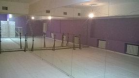 Установка зеркал в танцевальный зал (12 мая 2015) 1