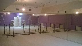 Установка зеркал в танцевальный зал (12 мая 2015) 4
