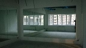 Установка зеркал в танцевальный зал (15 мая 2015) 1