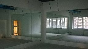 Установка зеркал в танцевальный зал (15 мая 2015) 5