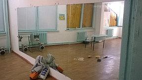 Установка зеркал в танцевальный зал (12 июня 2015) 2
