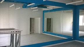 Установка зеркал в танцевальный зал (15 июля 2015) 2