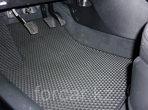 Коврики в салон Renault Duster 2012- - синие/черный кант, фото 2