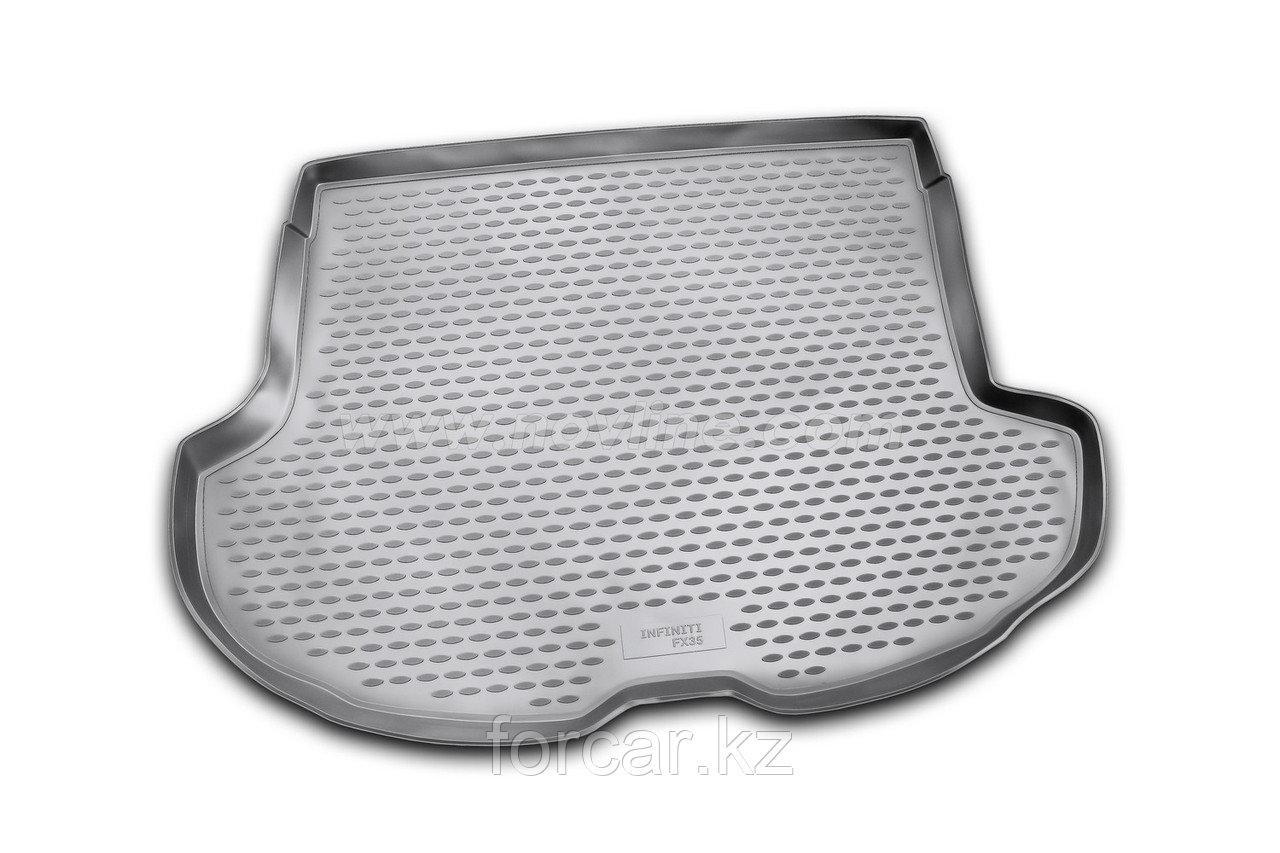 Коврик в багажник INFINITI FX35 2003-2009, кросс. (серый)