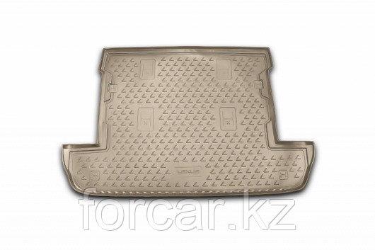 Коврик в багажник LEXUS LX 570 2007->, внед. (бежевый)