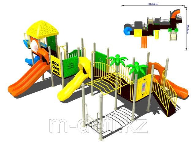 Купить:Детский игровой комплекс№ 10-6105