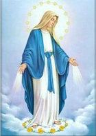 """Картины стразами """"Пресвятая Дева Мария 2"""" 40х60 см"""