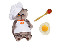 Игрушка мягкая Кот Басик Басик - шеф-повар с магнитами, фото 1