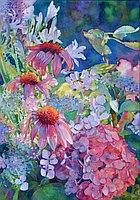 """Картины стразами """"Весенние цветы"""" 40х60 см"""