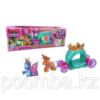 "Игровой набор Filly Butterfly Glitter ""Волшебная карета"", 2 фигурки"