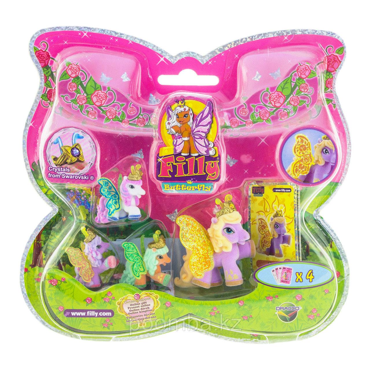 "Большой набор Filly Butterfly Glitter ""Волшебная семья"" - Беа"