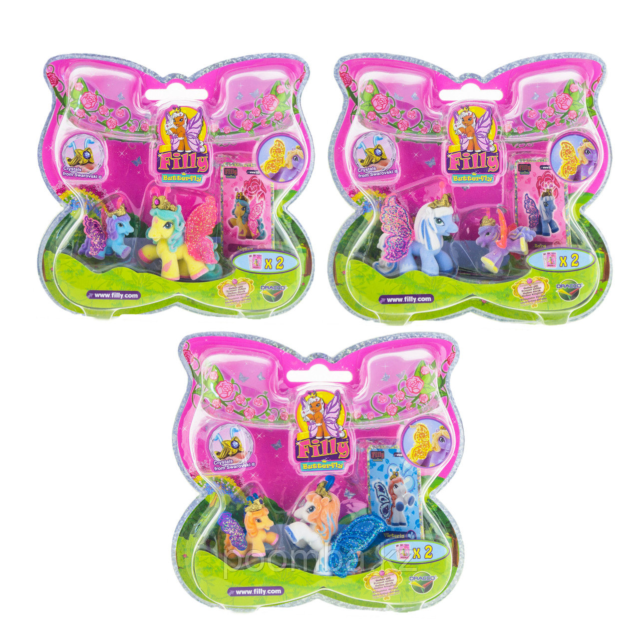 "Малый набор Filly Butterfly Glitter ""Волшебная семья"", 2 фигурки"