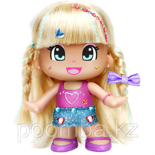 """Кукла """"Пинипон"""" - Макияж и модная прическа, блондинка"""