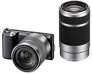 Sony NEX5NY E18-55mm F3.5-5.6 + E55-210mmF4.5-6.3