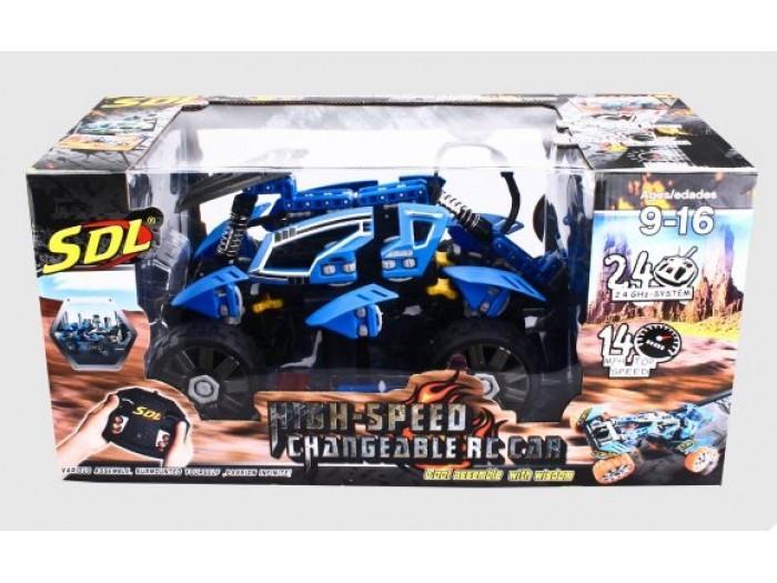 SDL Радиоуправляемый конструктор Racers Transcender (синий)