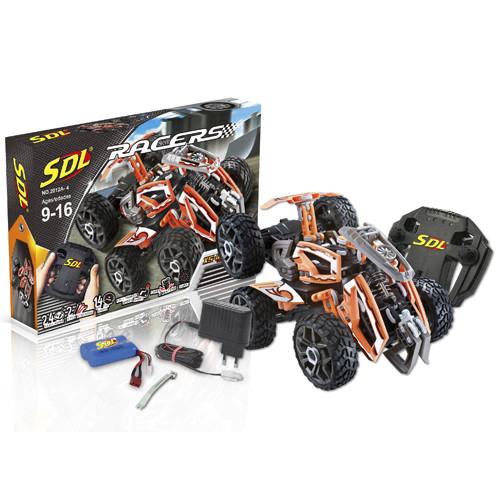 SDL Радиоуправляемый конструктор Racers Transcender (оранжевый)