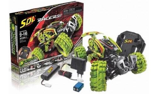 SDL Радиоуправляемый конструктор Racers Transcender (зеленый)