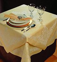 Скатерти, салфетки, чехлы для стульев, банкетные юбки, шторы, изготовленные на заказ и по размерам Заказчика.