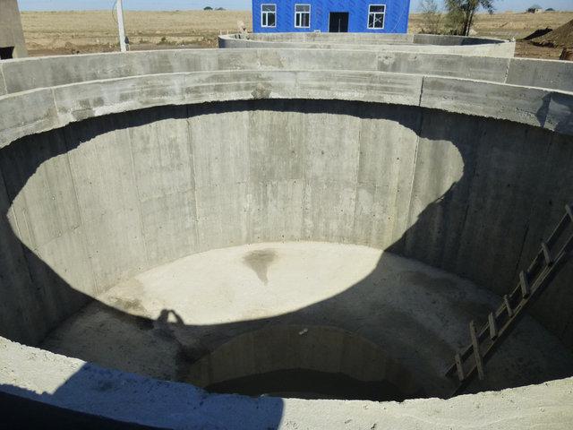 гидроизоляция отстойник спиральный 500м2 31
