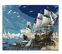 """Картины стразами """"Под белыми парусами"""" 40х60 см"""