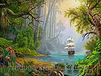 """Картина стразами """"Таинственный остров"""" 40х50 см"""