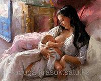 """Картина стразами """"Мать и дитя"""" 50х60 см"""