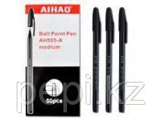 Ручка шариковая AIHAO 555, 0,5мм черная