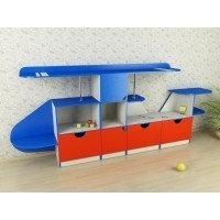 Вертолет шкаф для игрушек