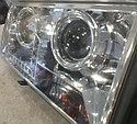 Фары передние линза + диодная лента Лада 2107, фото 4