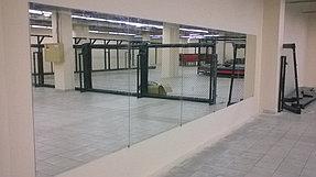 Установка зеркал в спортивный клуб (23 сентября 2015) 4