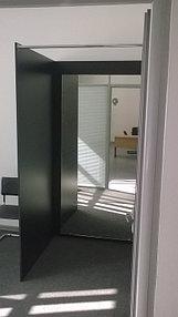 Установка зеркал в примерочную (10 июня 2015) 3