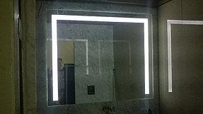 Установка зеркала с подсветкой в ванную (31 мая 2015) 2