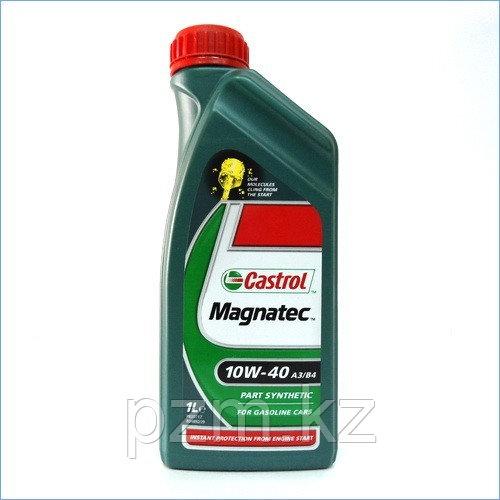 Полусинтетическое моторное масло CASTROL Magnatec 10W-40 A3/B3 1литр