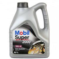 Полусинтетическое моторное масло MOBIL SUPER 2000 10W-40 4 литрa