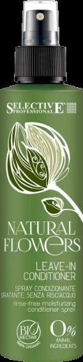 Несмываемый спрей-кондиционер Selective Natural Flowers Leave-In Conditioner 200 мл.