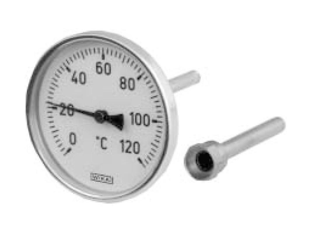 Термометр А4501  G1/2B NG 80 мм, WIKA Германия