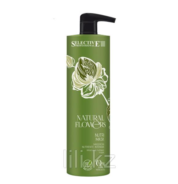 Питательная маска для восстановления волос Selective Professional Natural Flowers Nutri Mask 1000 мл.