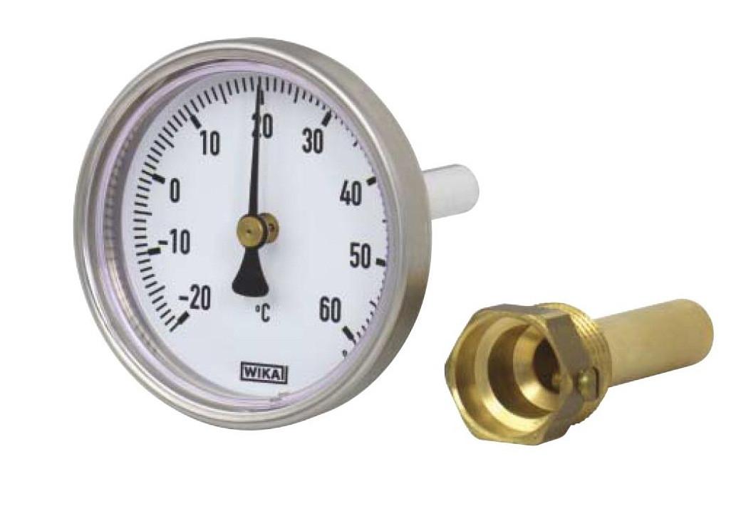 Термометр А5001  G1/2B NG 80 мм, WIKA Германия