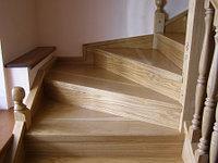 Деревянные лестницы на заказ в Алматы, фото 1