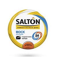 Salton Воск для обуви из гладкой кожи 75 мл черный