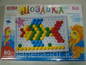 Мозайка 80 деталей, шестигранная коробка, Стеллар