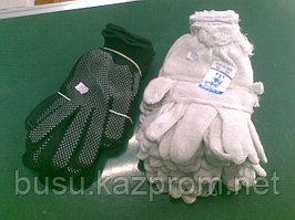 Перчатки х/б и резиновые