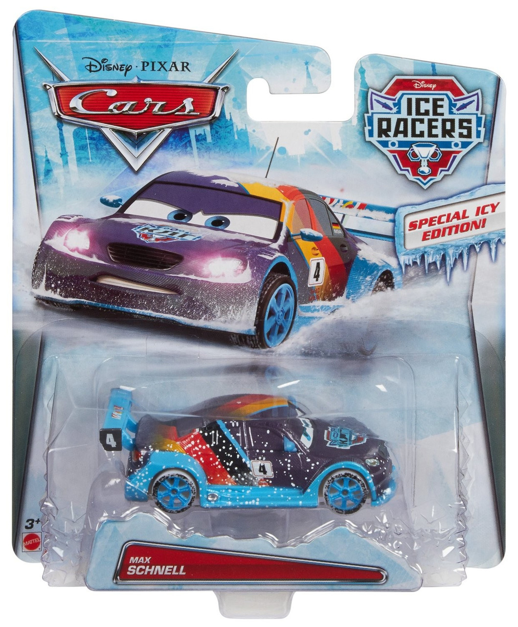 "Cars / Тачки ""Ice Racers"" Max Schnell, Макс Шнель"