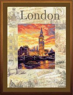 """Набор для вышивки крестом """"Города мира. Лондон"""" 0019РТ"""