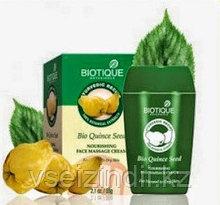 """Массажный крем для лица """"Биотик Био Айва"""" (Biotique Bio Quince Seed), 55 гр"""