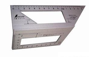 Шаблон угловой Shinwa, 169*63*73мм